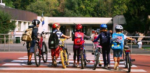 Scuola e bicicletta