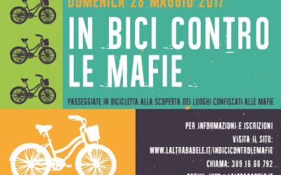 Domenica 28 maggio 2017 – In bici contro le Mafie – Passeggiata e escursione