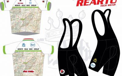 Nuovo ordine abbigliamento Monte Sole Bike Group