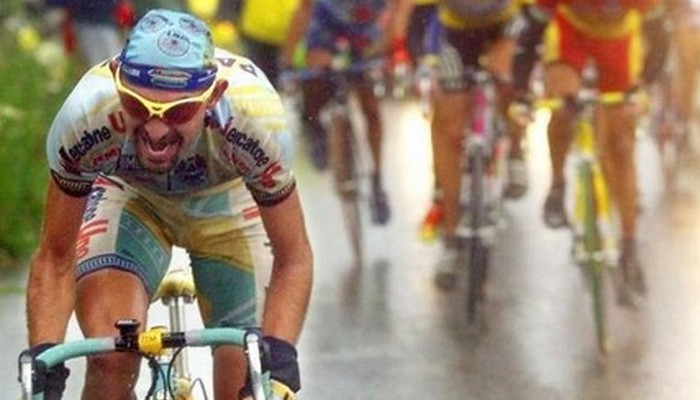 """Martedì 1° agosto 2017 – """"Per vincere Pantani non ha bisogno del doping ma ha bisogno delle salite"""""""
