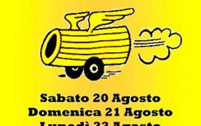 Sabato 19 agosto – Maccheronata a Monterenzio – Escursione
