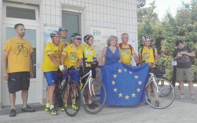 Martedi 19 settembre – Confluenze (da Roma a Bruxelles in bici per l'Europa)