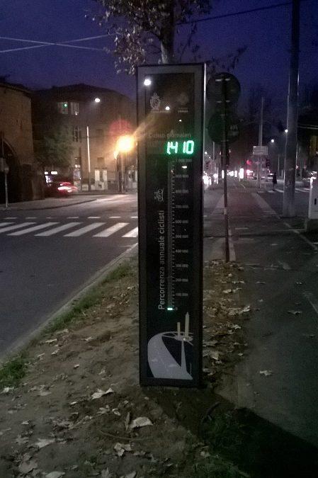 Tangenziale delle Biciclette, attivato a Porta San Vitale un contabiciclette