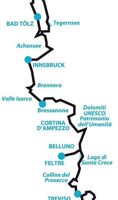 Da Monaco a Venezia Lungo la Ciclabile dell'Amicizia: dal 20 aprile al 1° maggio – Vacanza