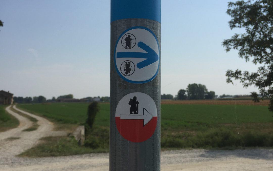 Sabato 14 e domenica 15 settembre – La via Francigena 5 (Fidenza – Fosdinovo) – Escursione