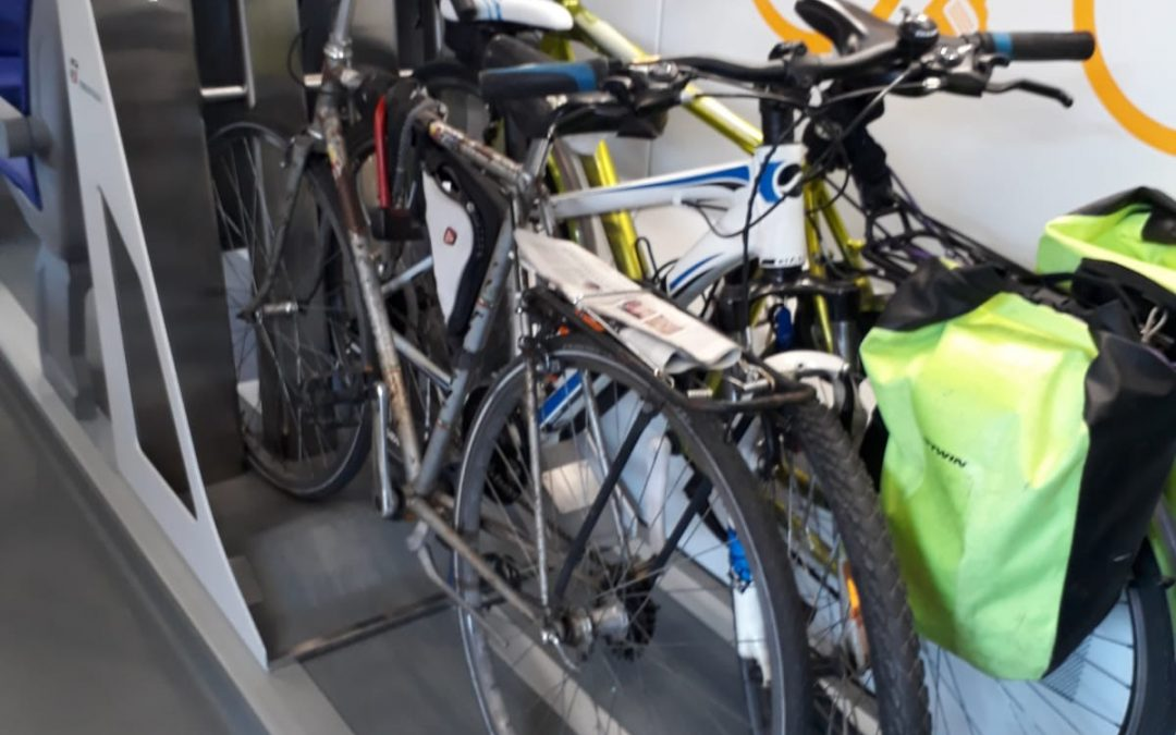 Sei posti bici su Intercity e più spazio sui regionali. FIAB e Trenitalia per l'intermodalità