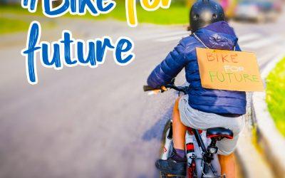 Dona il tuo 5×1000 a FIAB per dare un futuro alle nuove generazioni!  #BikeForFuture