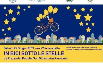 Sabato 22 giugno – In bici sotto le stelle – Passeggiata