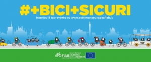 """#+Bici+Sicuri: dal 16 al 22 settembre torna la """"Settimana Europea della Mobilità…in Bicicletta"""""""