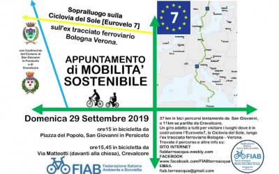 Domenica 29 settembre – La ferrovia dimenticata Verona- Bologna – Escursione
