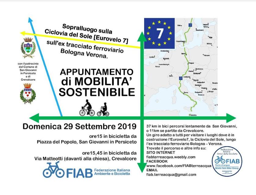 Domenica 29 settembre – La ferrovia (non) dimenticata Verona- Bologna – Escursione