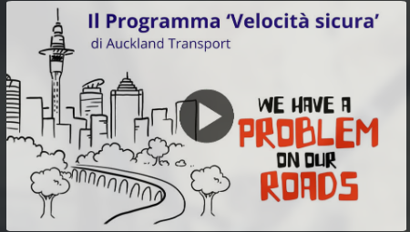 I problemi delle nostre strade in un video da Aukland
