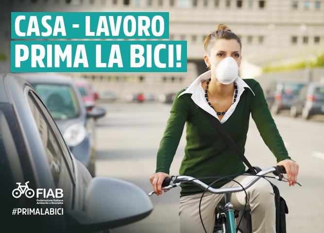 Bike to work: decalogo Fiab e incentivi della Regione