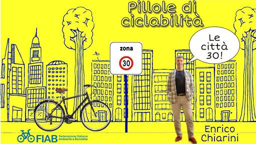 Pillole di ciclabilità: le città 30, il doppio senso ciclabile, ciclovie e tanto altro