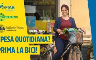 Spesa quotidiana? Prima la bici!