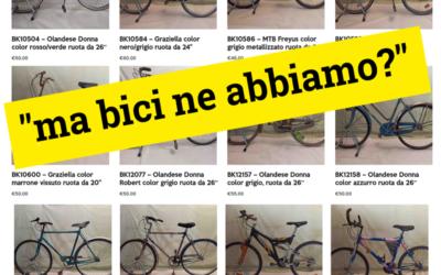 Come funziona il contest delle bici recuperate?